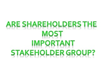 Stakeholder Power and Influence