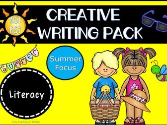 Creative Writing Pack (Summer Themed - KS1/KS2)