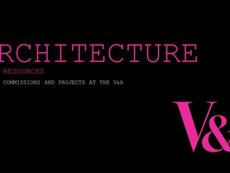 Architecture: Style, commissions and process videos from the V&A