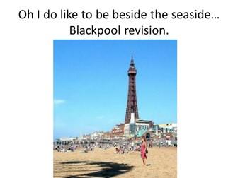 Blackpool Tourism Lesson AfL WJEC Leisure and Tourism