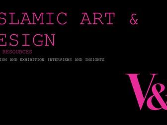 Islamic Art & Design: Video interviews and Artist Insights