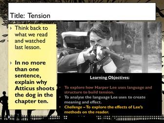 To Kill A Mockingbird - Tension