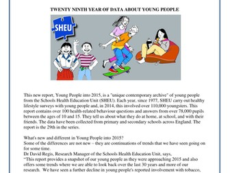 SHEU Young People into 2015 [summary]