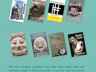 Free Puzzles for Latin and Greek