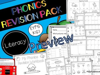 Phonics Revision Workbook (EYFS/KS1)