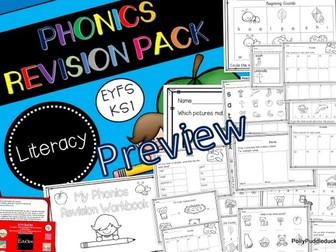 Phonics Revision Workbook (EYFS/KS1)