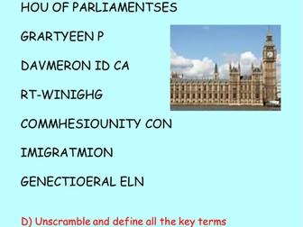 Government and Politics Assessment - Citizenship