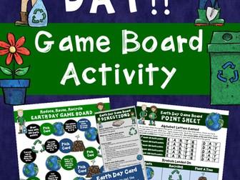 Earth Day Game Board