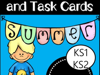 Summer Story Starters and Task Cards (EYFS/KS1)