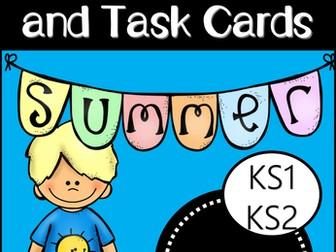 Summer Story Starters and Task Cards (EYFS/KS1)