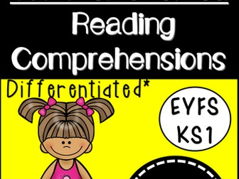 Reading Comprehensions (Differentiated for EYFS/KS1)