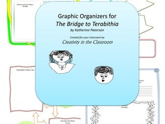 Graphic organizers for bridge to terabithia by perkiteacher graphic organizers for bridge to terabithia by perkiteacher teaching resources tes ccuart Images