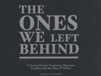 The Ones We Left Behind