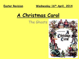 A Christmas Carol - Revision - The Ghosts