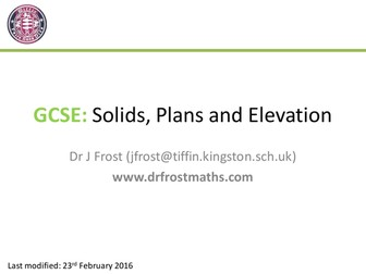 Solids, Plans and Elevation