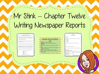 Newspaper Reports  – Mr Stink