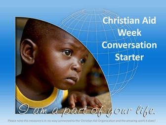 Christian Aid Week Conversation Starter PowerPoint Presentation