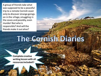 The Cornish Diary - Murder Mystery