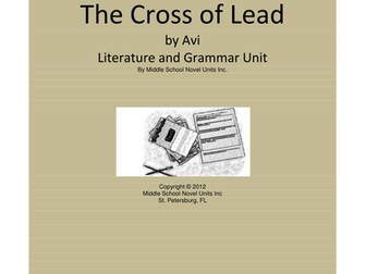 Crispin: The Cross of Lead Complete Literature and Grammar Unit