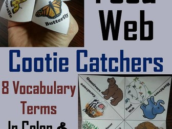 Food Web Cootie Catchers