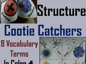 Atomic Structure Cootie Catchers