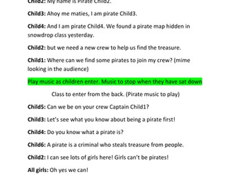 Pirate class assembly pack