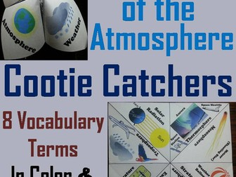 Layers of the Atmosphere Cootie Catchers