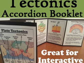 Plate Tectonics Accordion Booklet
