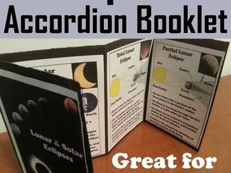 Eclipses Accordion Booklet