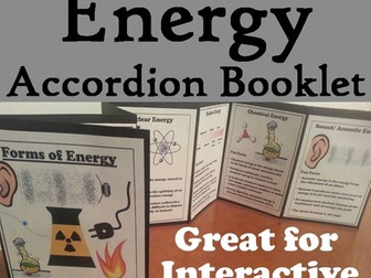 Forms of Energy Accordion Booklet