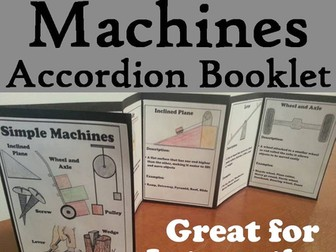 Simple Machines Accordion Booklet