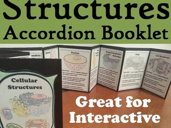 Cell Structures Accordion Booklet
