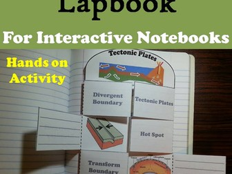 Plate Tectonics Lapbook