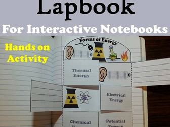 Forms of Energy Lapbook