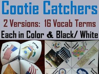 Constitution Cootie Catchers