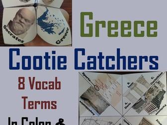 Ancient Greece Cootie Catchers