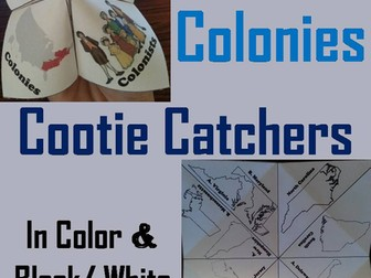 13 Colonies Cootie Catchers