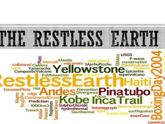 Revision - The restless earth GCSE AQA