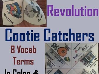 Industrial Revolution Cootie Catchers