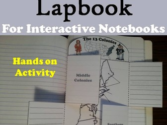13 Colonies Lapbook