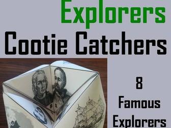 European Explorers Cootie Catchers
