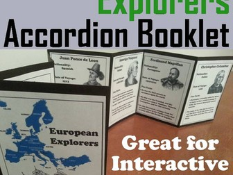 European Explorers Accordion Booklet