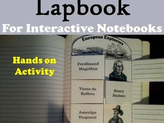 European Explorers Lapbook