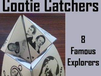 Explorers Cootie Catchers
