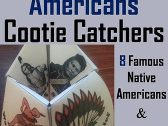 Native Americans Cootie Catchers