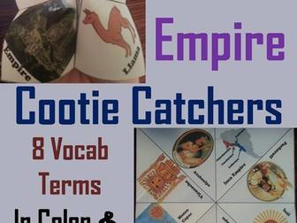 Inca Empire Cootie Catchers