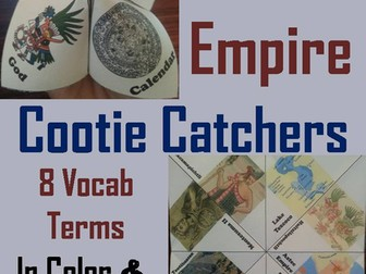 Aztec Empire Cootie Catchers