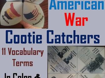 Spanish American War Cootie Catchers