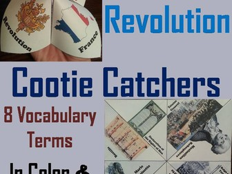 French Revolution Cootie Catchers