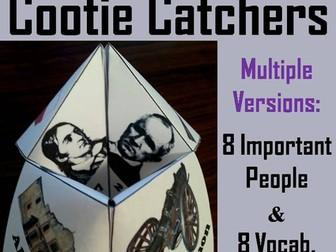 Texas Revolution Cootie Catchers